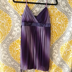 *SPARKLY* Ruby Rox two tone purple (Large) dress.